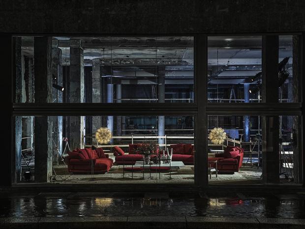 Фото №1 - B&B Italia представляет: диван Noonu по дизайну Антонио Читтерио