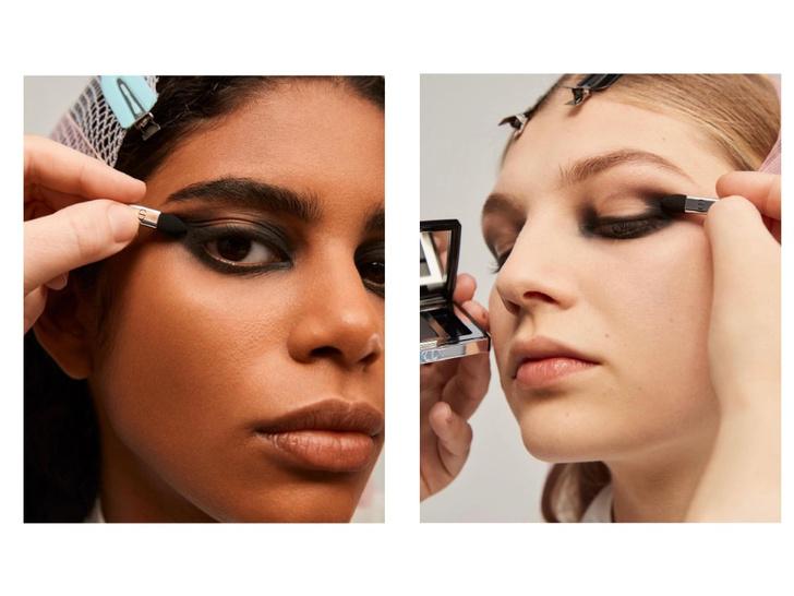Фото №3 - Вечерний макияж, который зрительно увеличит глаза: показывают модели Givenchy и Dior