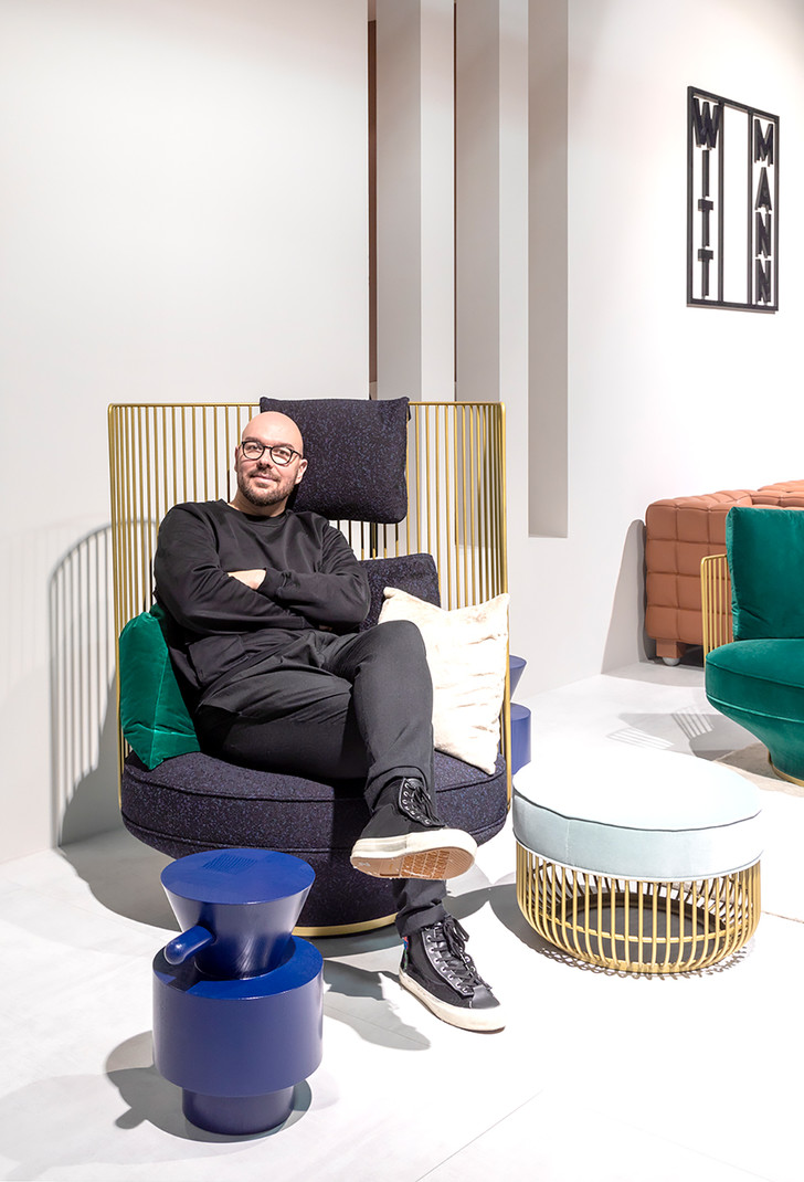 Фото №1 - Лука Никетто— новый арт-директор Wittmann
