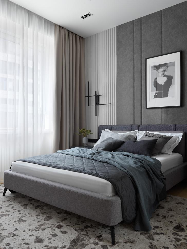 Фото №10 - Монохромная квартира 57 м² для молодой пары в Москве