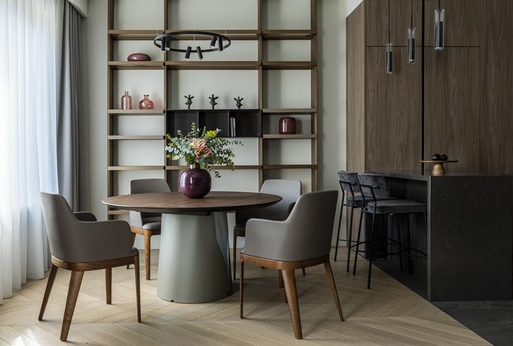 Фото №4 - Европейский интерьер московской квартиры 90 м² для иностранца
