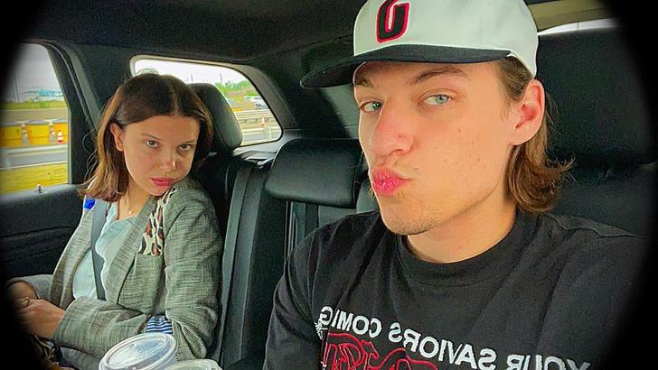 Фото №2 - Слух дня: Милли Бобби Браун встречается с сыном рокера Джона Бон Джови 🤯