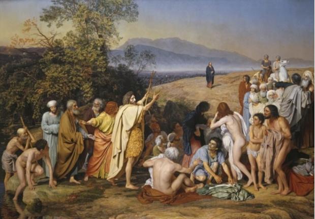 Александр Иванов. Явление Христа народу (Явление Мессии)