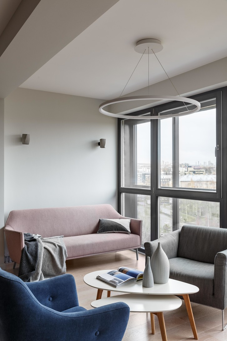 Фото №3 - Модная квартира с видом на Онежское озеро