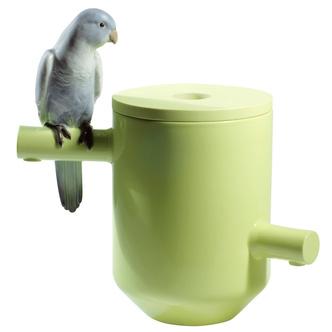 Фото №10 - Птичьи клетки в интерьере: идеи использования от дизайнера