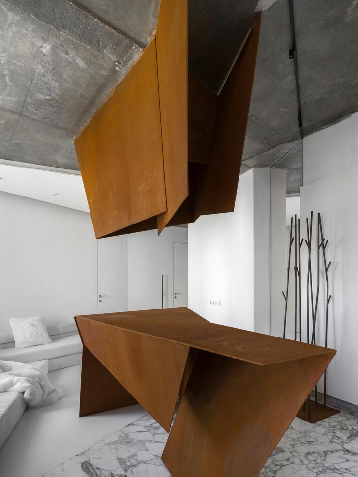 Фото №2 - Московская квартира 70 м² в духе супрематизма