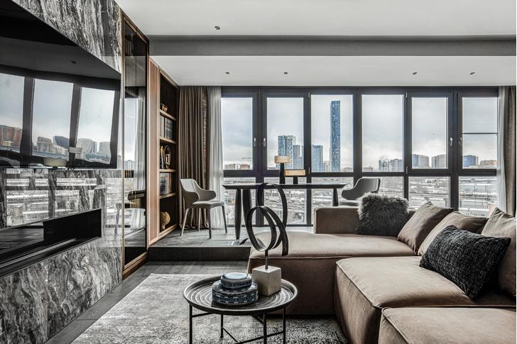 Фото №2 - Этника и современный дизайн в квартире на Пресне