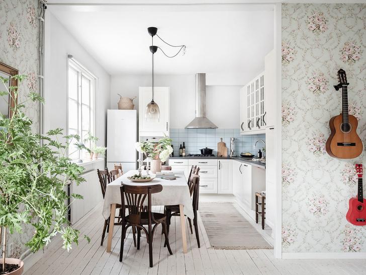 Фото №5 - Уютная квартира с мансардой в Швеции