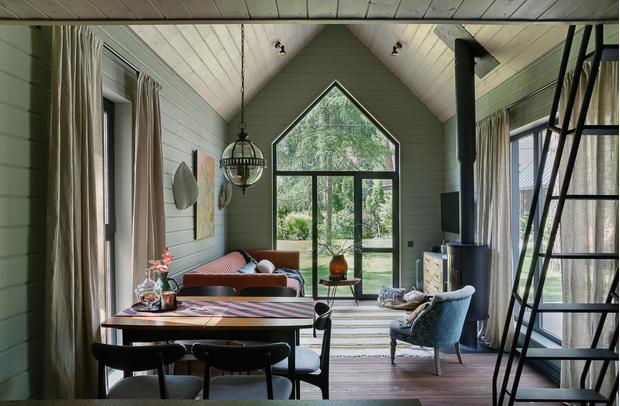 Фото №1 - Яркий и уютный дом дизайнера в Перми