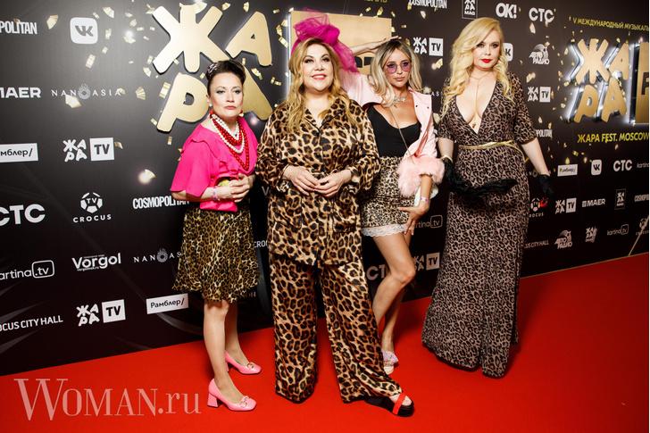 Фото №3 - Леопардовая пижама, бант-кокошник: самые спорные образы звезд на фестивале «Жара»