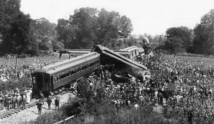 Фото №1 - Великое крушение поезда