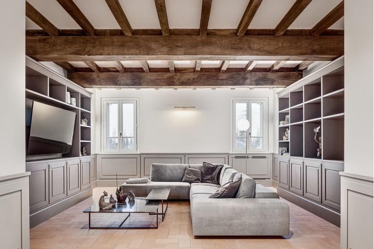 Фото №4 - Старый дом с современным интерьером в Италии