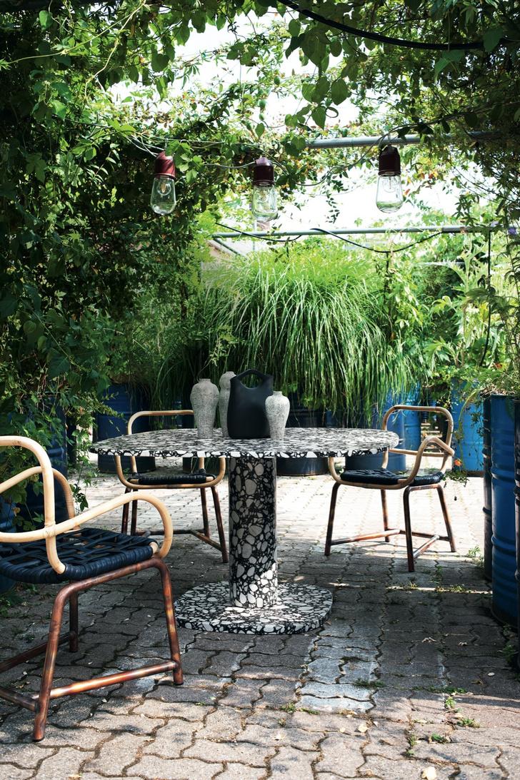 Фото №9 - Завтрак на траве: летняя кухня и столовая