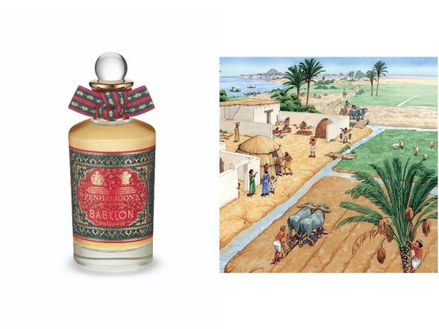 Фото №2 - Сокровища Месопотамии: новый ванильный аромат от Penhaligon's