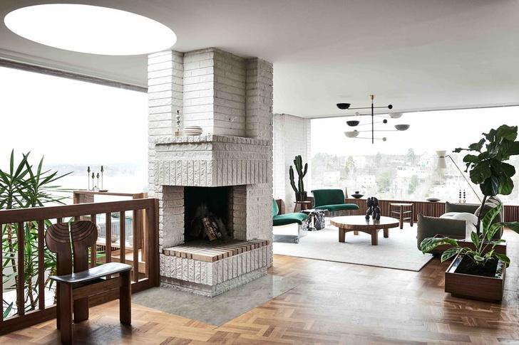 Фото №9 - Двухэтажная вилла в Швеции для семьи дизайнеров