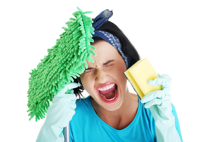Фото №1 - Домохозяйки больше подвержены стрессу, чем офисные служащие