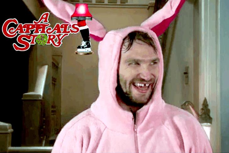 Александр Овечкин поздравил болельщиков в костюме розового кролика: видео, подробности