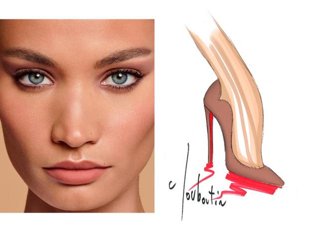 Фото №6 - Mix & match: 6 идей макияжа под 6 пар обуви