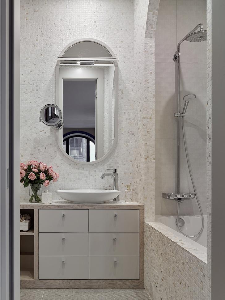 Фото №13 - Квартира 105 м² с необычным дизайном и арочными окнами на ЗилАрт