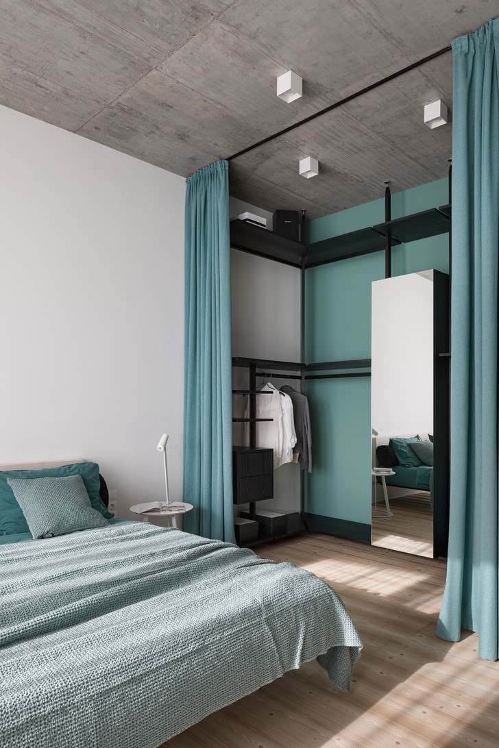 Фото №14 - Бетон + яркие акценты: квартира 166 м² в Кривом Роге