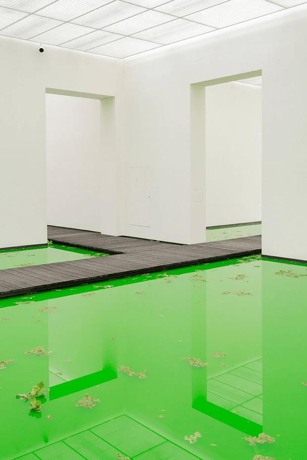 Фото №6 - Инсталляция Олафура Элиассона в Базеле