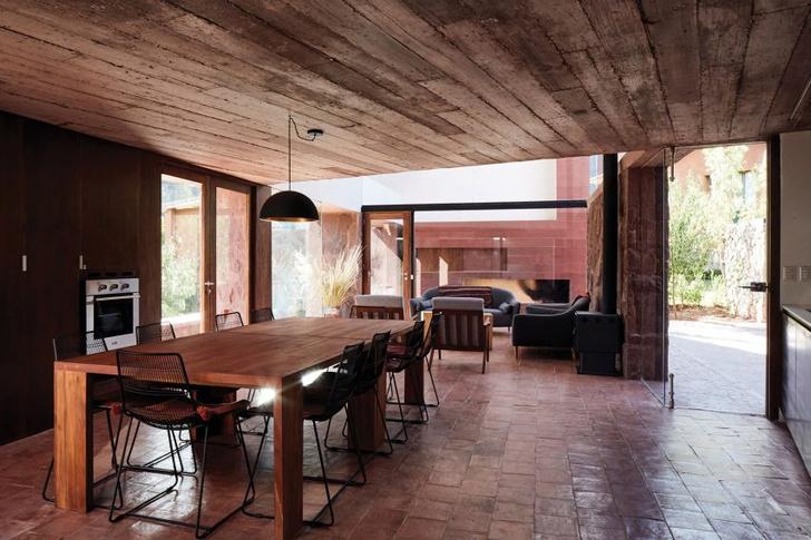 Фото №6 - Дом из красного камня в Перу
