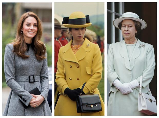 Фото №1 - Модный протокол: почему королевские особы носят сумки только в руках