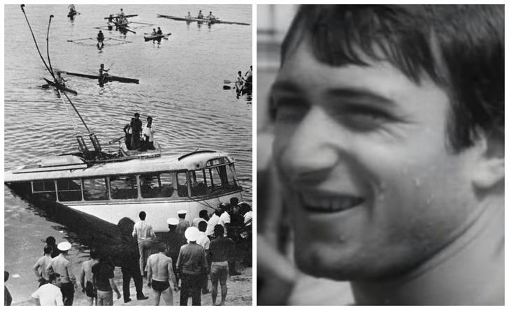 Фото №1 - История героического советского пловца Шаварша Карапетяна, который вытащил 46 человек из утонувшего троллейбуса