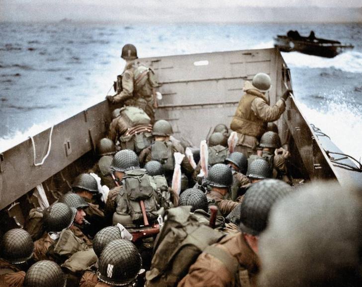 Фото №15 - 22 завораживающих цветных фото Второй мировой