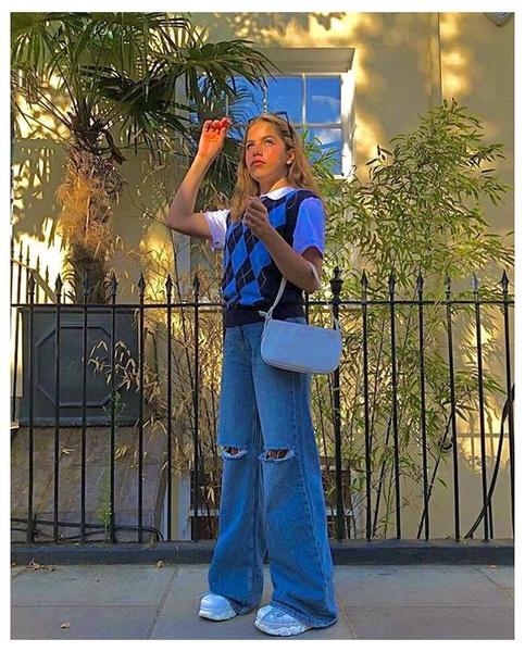 Фото №2 - С чем носить рваные джинсы— тренд весны 2021