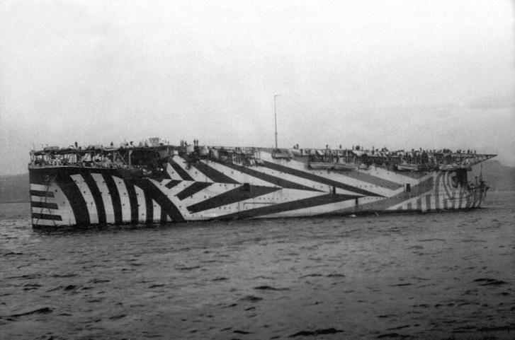 Фото №3 - Ослепляющий камуфляж: окраска британских кораблей во время Первой мировой войны