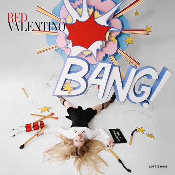 Фото №1 - Юная сестра Кейт Мосс снялась для Red Valentino