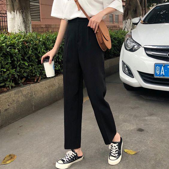 Фото №2 - Будь модной: какие брюки носить в школу осенью 2021