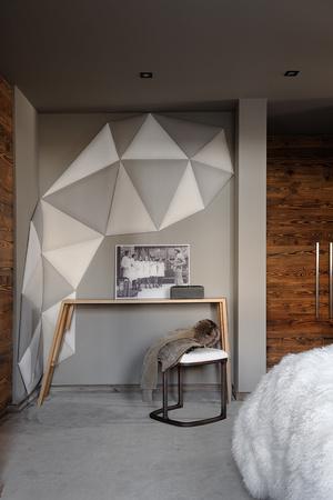 Фото №14 - Дизайнерское шале со стеклянной лестницей в Межеве