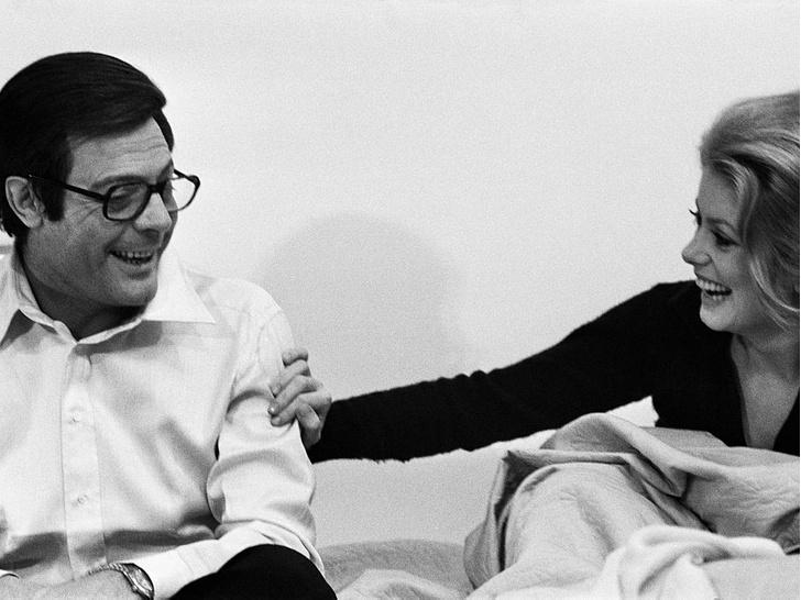 Фото №4 - Лед и пламень: обреченная любовь Катрин Денев и Марчелло Мастроянни — самой красивой пары европейского кино