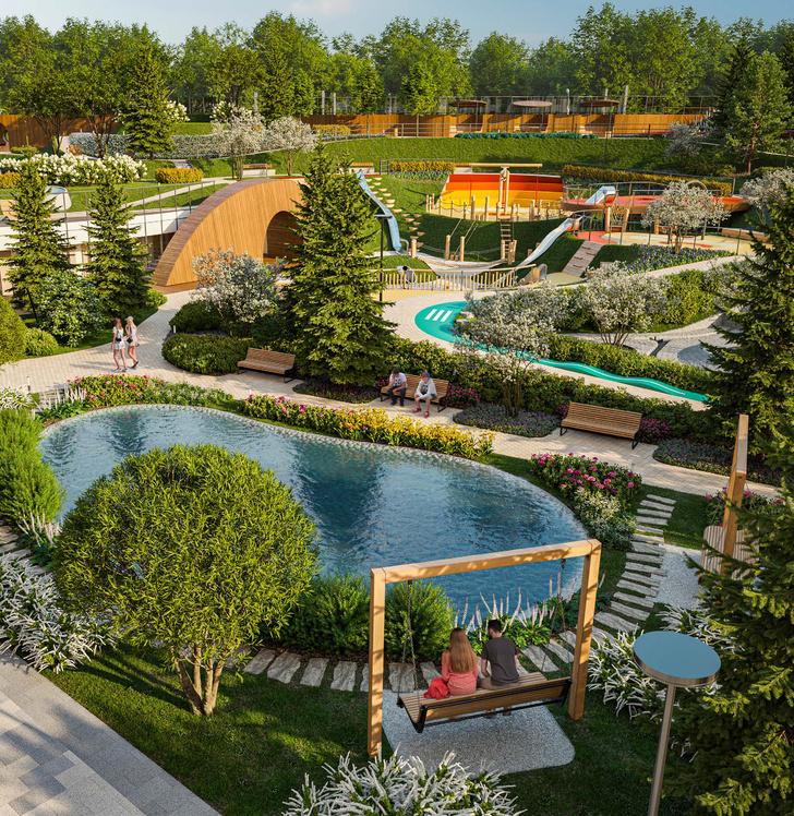 Фото №5 - Sminex вложит 500 млн рублей в благоустройство дома «Достижение»