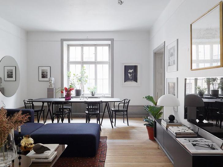 Фото №4 - Квартира в доме начала XX века с печкой в Стокгольме