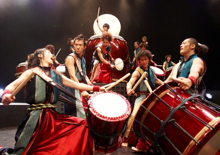 Фото №1 - Впервые в Воронеже выступят японские барабанщики