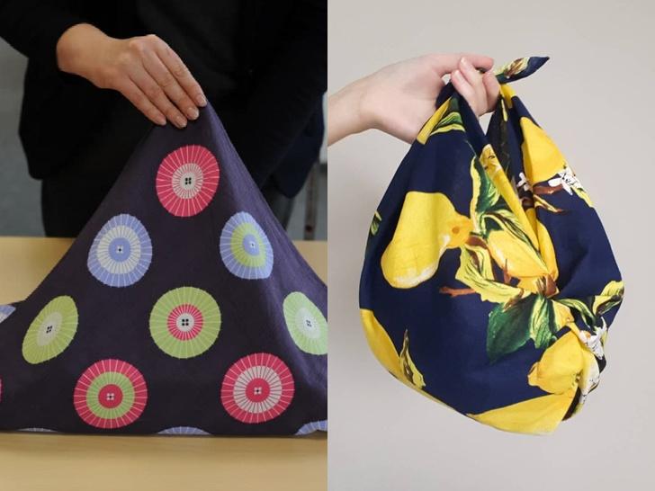 Фото №1 - Как сделать уникальную сумку из платка