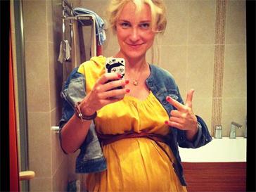 Катя Гордон скоро станет мамой.