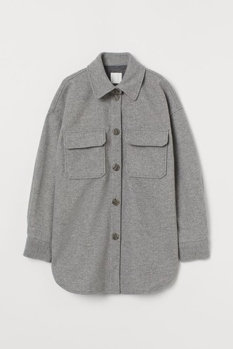 Фото №6 - Где купить точно такую же куртку-рубашку, как у Лили Коллинз, и еще 4 похожие альтернативы