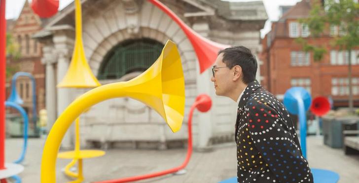 Фото №2 - Красочная звуковая инсталляция в Лондоне