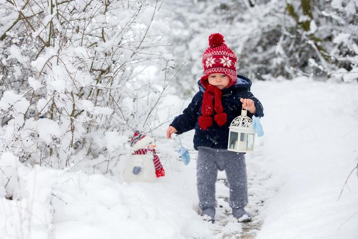 Фото №1 - Сочиняем зимние сказки вместе с крохой