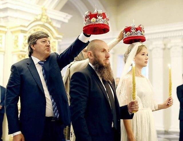 Фото №2 - Кехман женился! Фото венчания с Идой Лоло