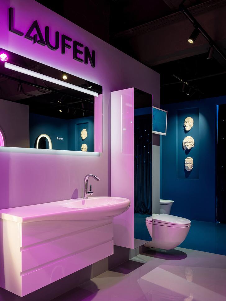 Фото №11 - В розовом свете: новый шоурум Laufen