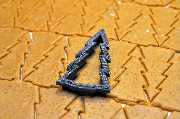 Фото №2 - Ученые создали идеальную формочку для новогодних печенек