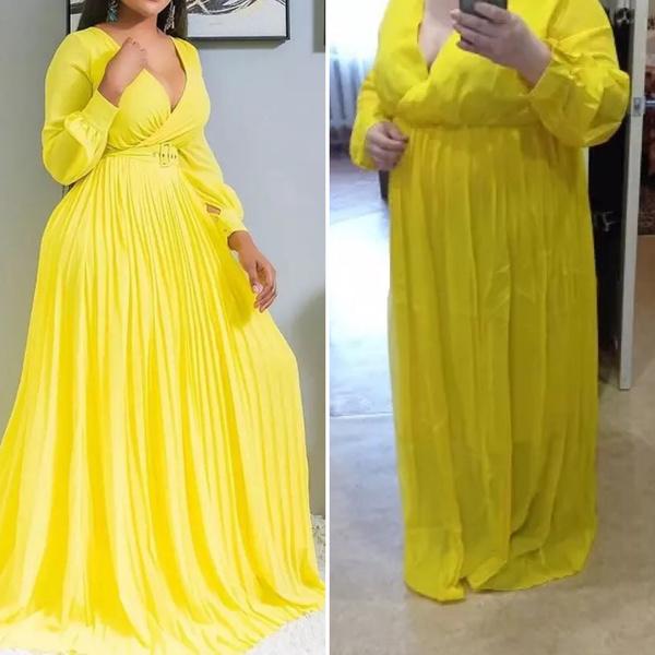 Фото №1 - Ожидание vs реальность: платья с AliExpress для девушек plus-size