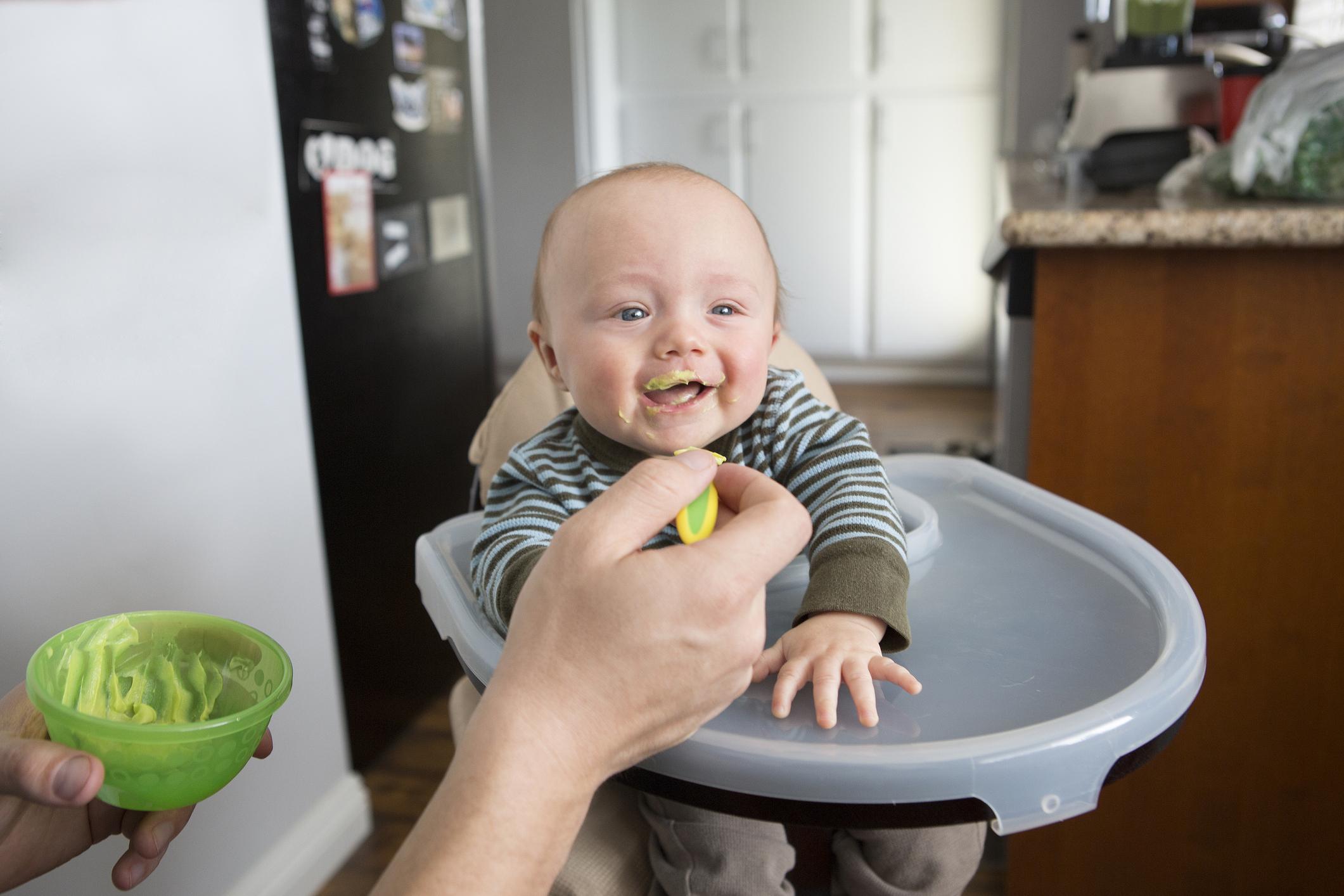 Сколько овощного пюре давать ребенку в 5 месяцев