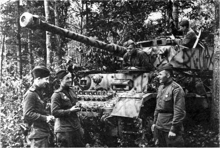 Фото №7 - Что немцу хорошо, то и Красной армии подойдет— танки вермахта с красными звездами