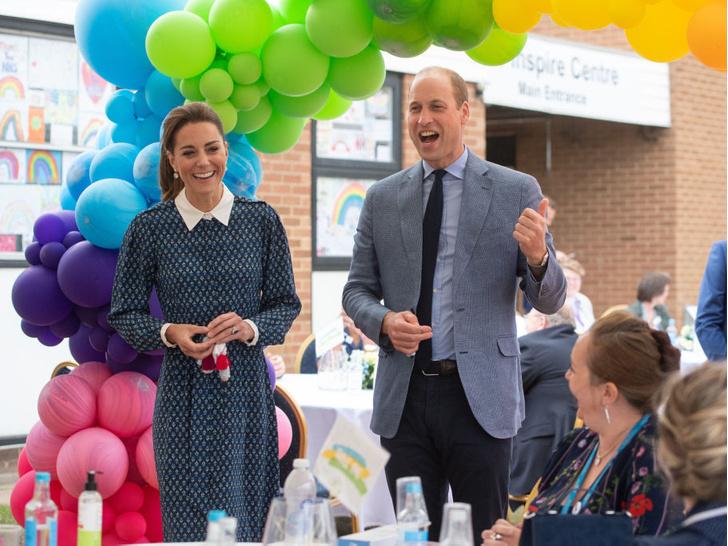 Фото №10 - Улыбчивая герцогиня: 10 самых веселых моментов Кейт за всю ее королевскую жизнь